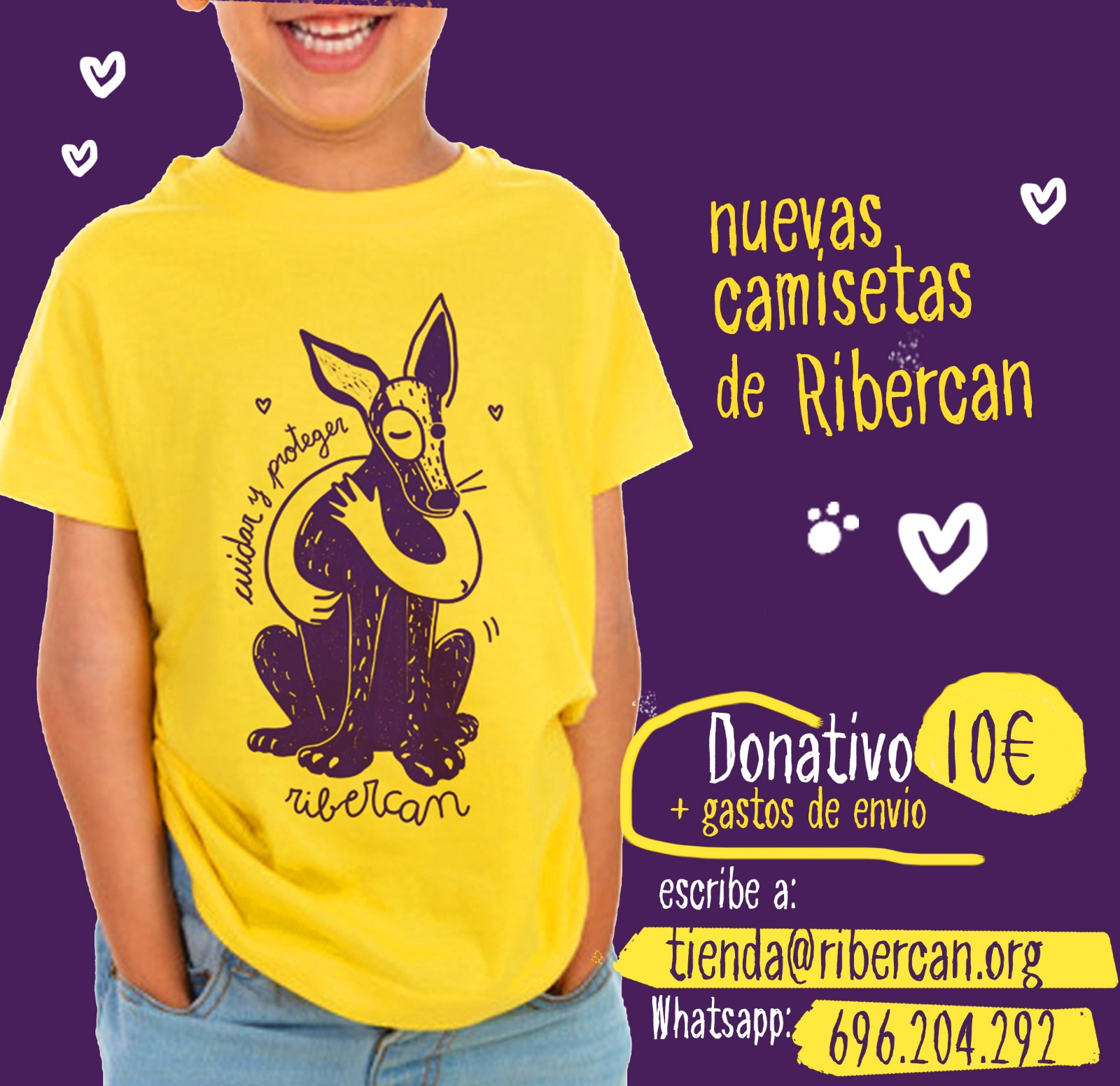 camisetas infantiles ribercan